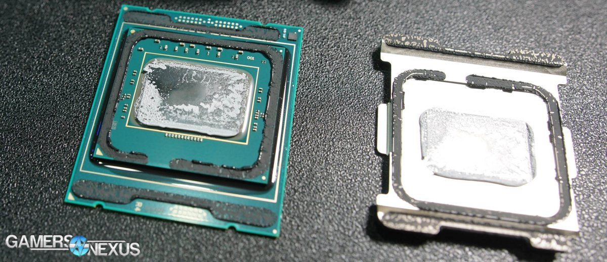 Live Delidding of Intel i9-7900X & New RFID Chip on CPU ...