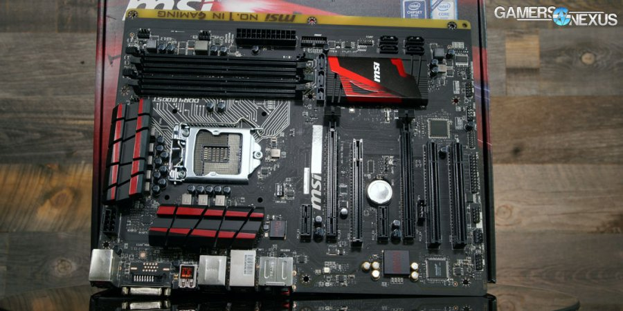 MSI B150A Gaming Pro Motherboard Review