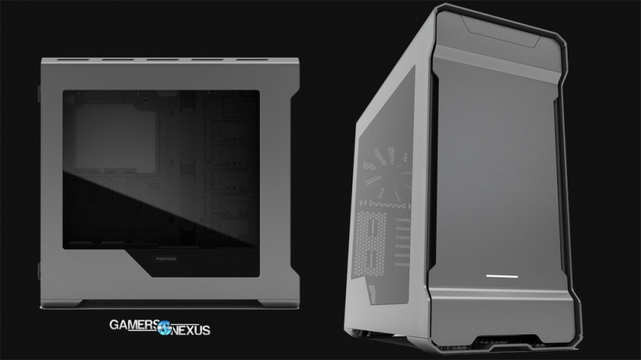 Phanteks Enthoo Evolv ATX Case Unveiled, Focuses on Liquid Cooling & Aesthetics