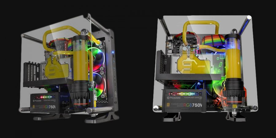 Thermaltake Core P1 TG from CES Gets Final Price Tag, Availability