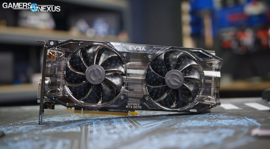 EVGA RTX 2070 Black Review vs. GTX 970, 1070, Vega 64, & More (Overclocking, FPS, Thermals, Noise)