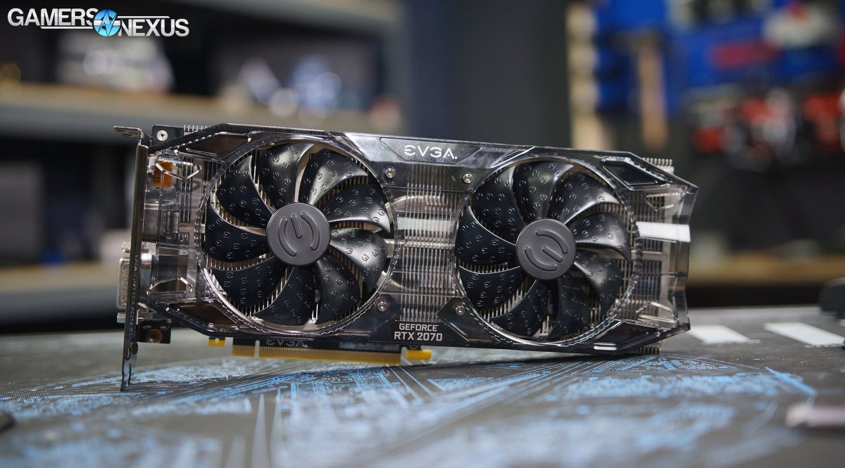 EVGA RTX 2070 Black Review vs. GTX 970, 1070, Vega 64, &amp