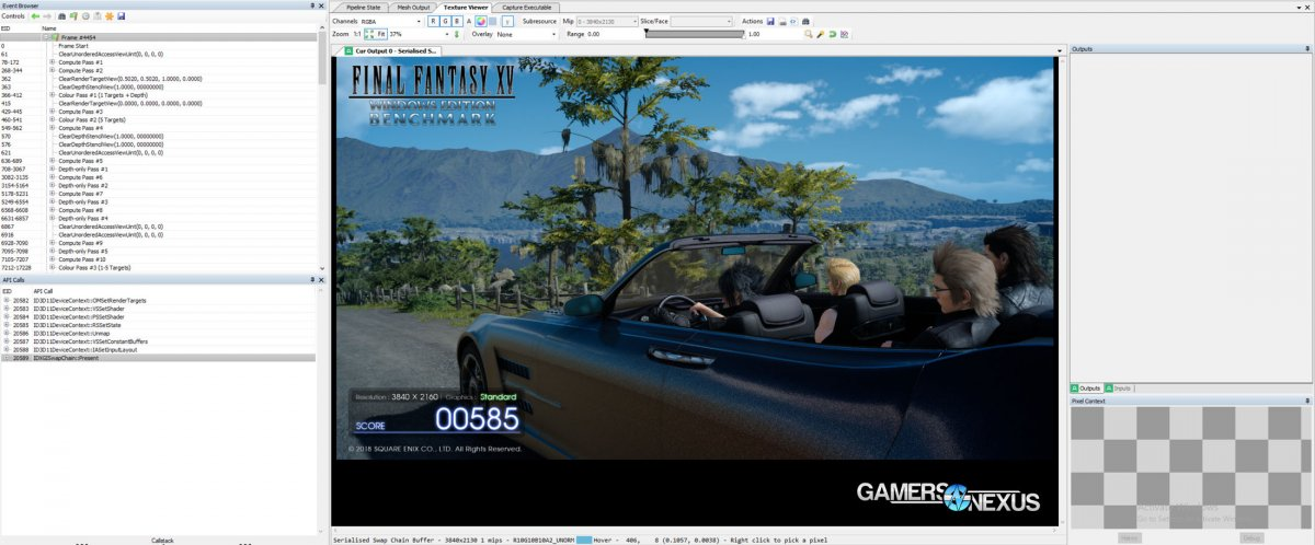 FFXV Hyperthreading & SMT On vs. Off Benchmarks