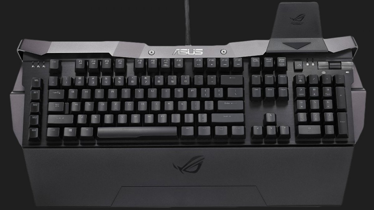 ASUS Creates World's Ugliest Mechanical Keyboard, the Horus GK2000