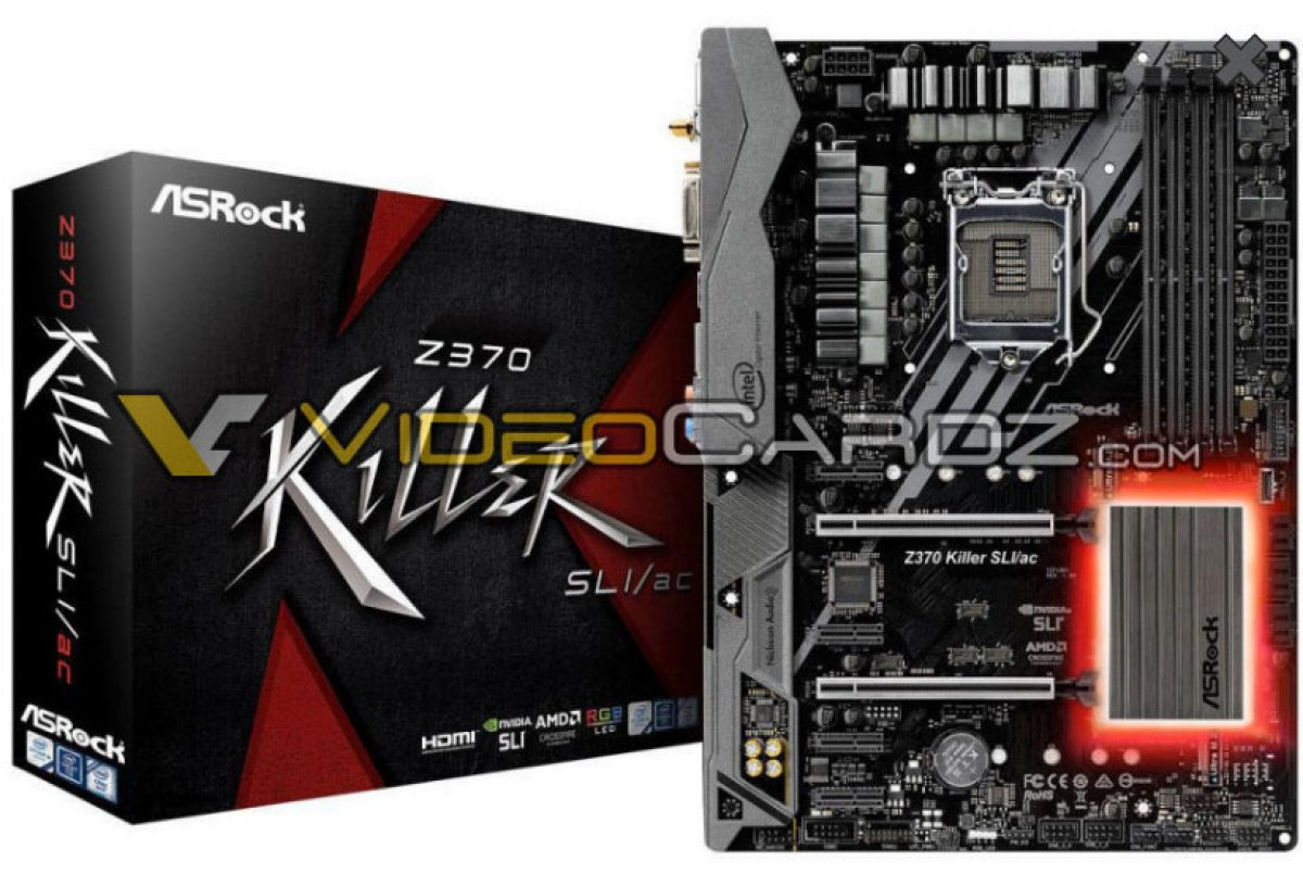 Leaked ASRock Z370 Motherboard Shots for Coffee Lake