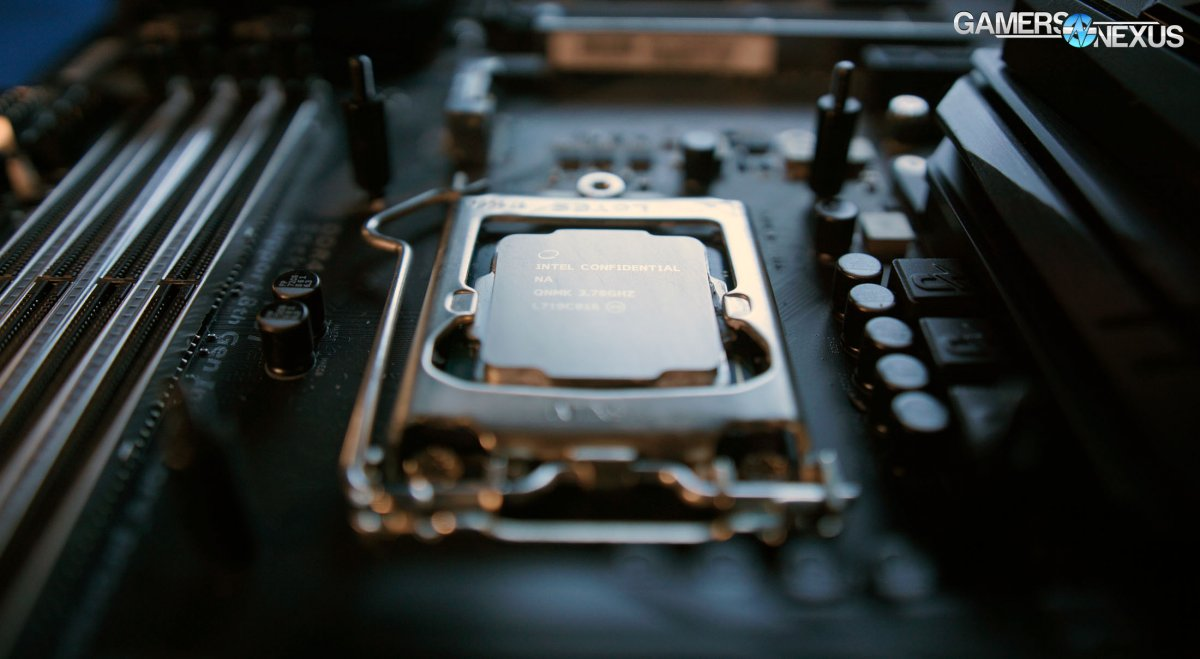 intel cpu 8700k soldered i7 9700k ryzen vs 9600k 2700x 9900k benchmarks binning hardware specs bios amd z370 evga frequency
