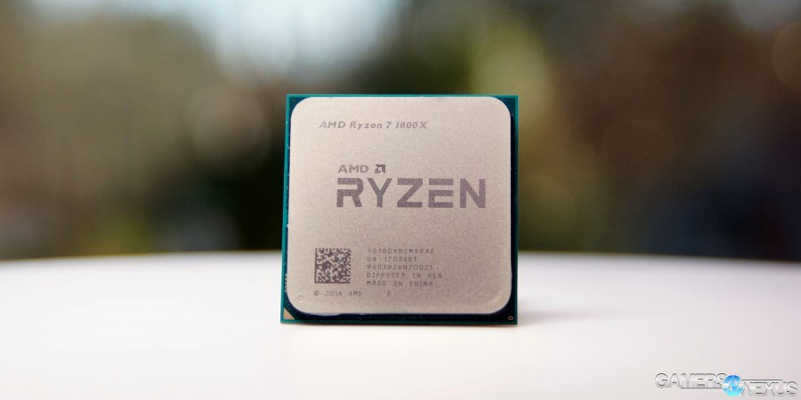 AMD Ryzen R7 1800X Review: An i5 in Gaming, i7 in Production