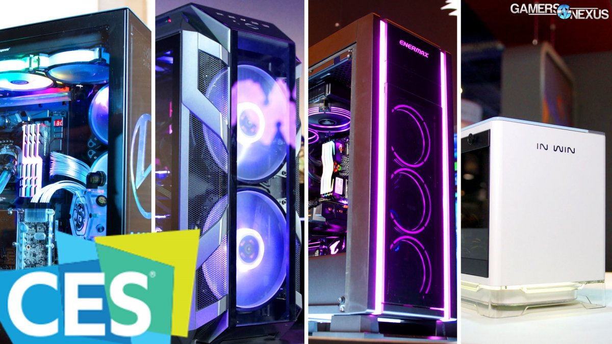 The Best Cases Of 2018 Ces Gaming Case Round Up