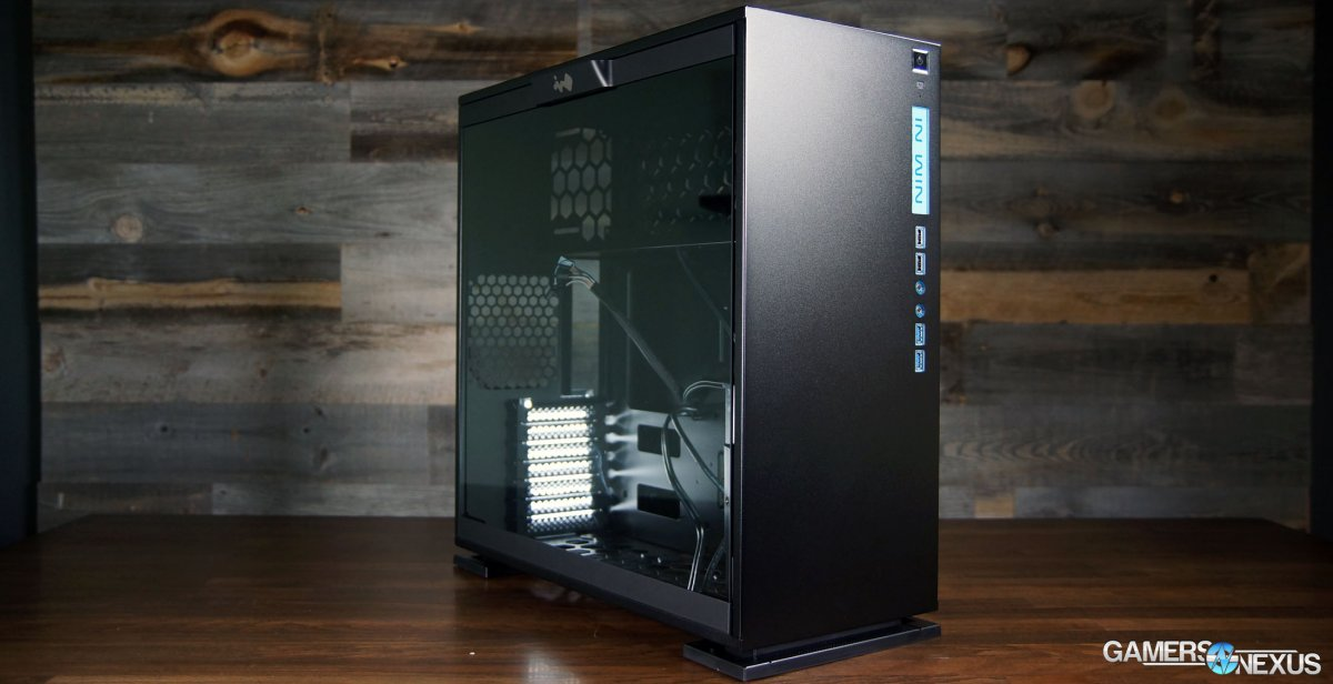 In Win 303 Case Review vs. NZXT S340, Corsair 400C