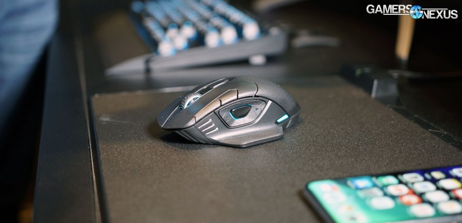 Corsair Goes Wireless with K63 Keyboard & Dark Core Mouse