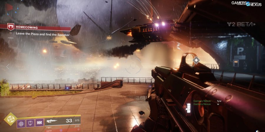 Destiny 2 Beta GPU Benchmark: Frametimes & Graphics Optimization