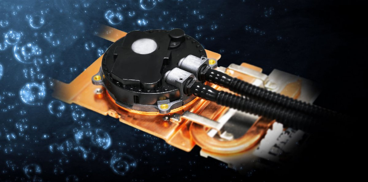 Gigabyte GTX 980 WaterForce Card with Threatened Cooler Master CLC