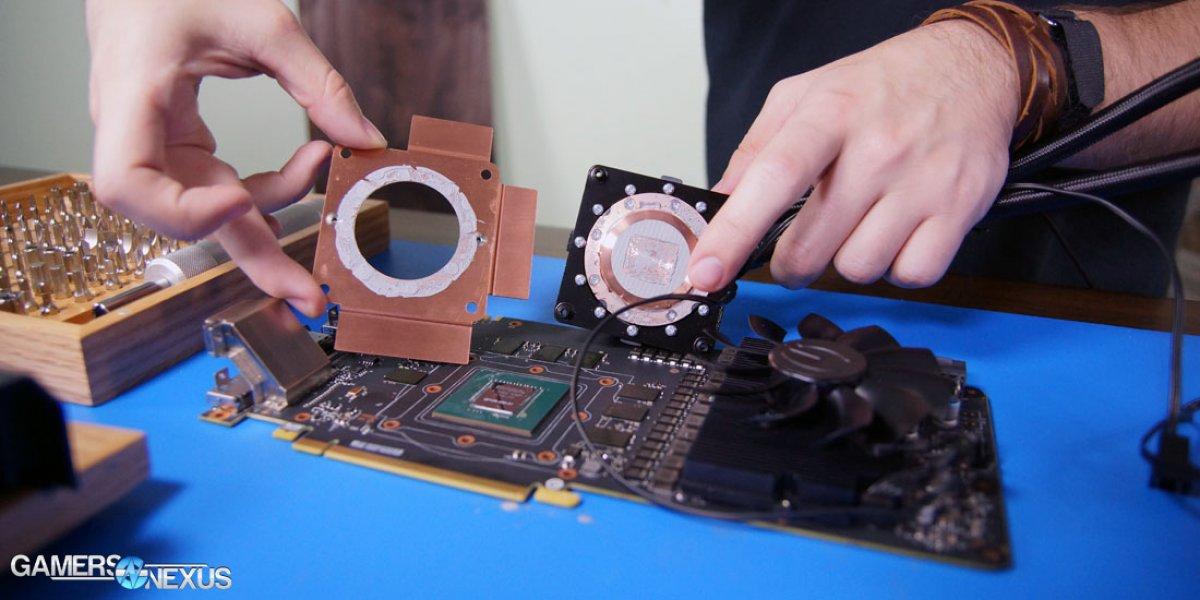 Evga Gtx 1080 Ftw Hybrid Tear Down