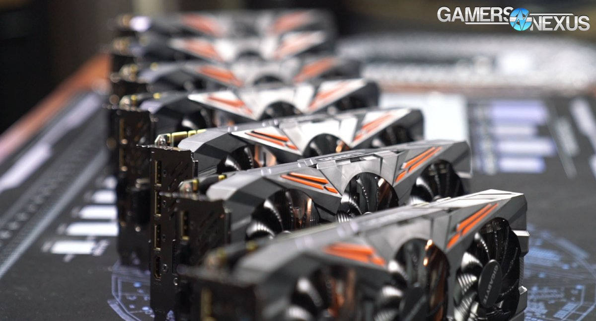 GPU Silicon Quality & OC Lottery Test: Differences of Each Video Card's Frequency