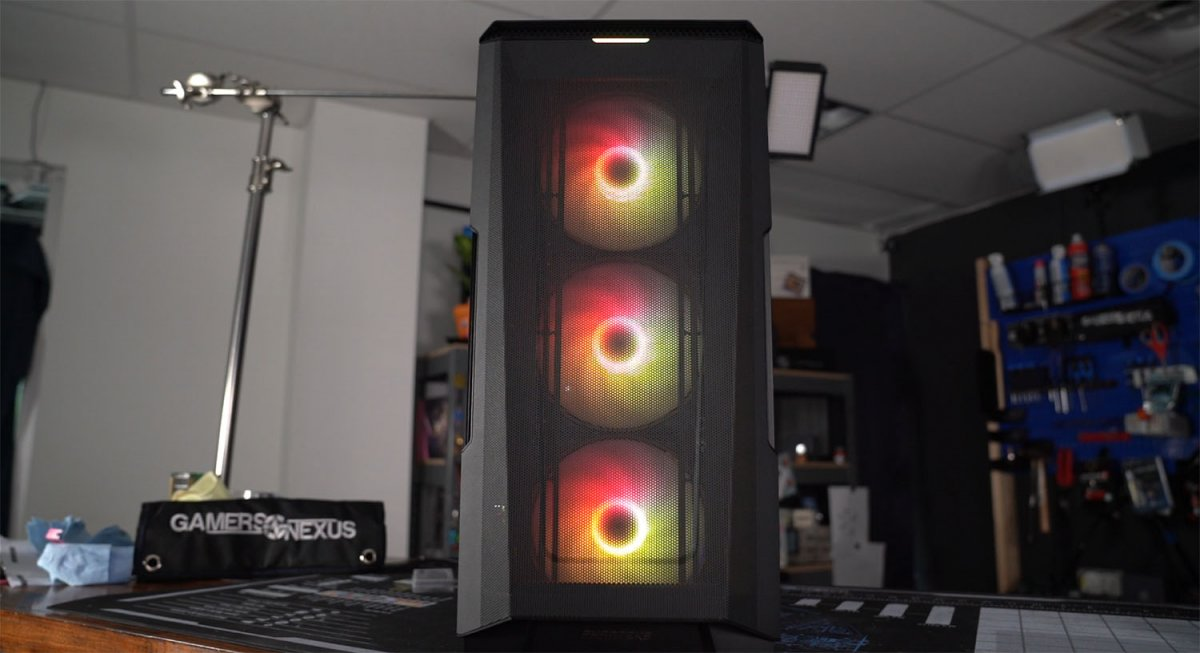 Phanteks P500A Case Review: New Best in Noise-Normalized Thermals