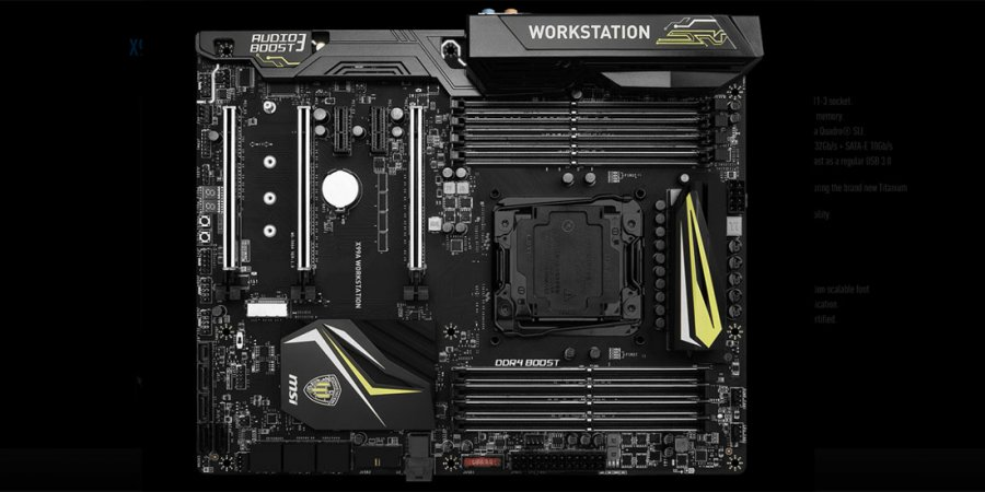 MSI X99A Workstation Motherboard Announced with 7000-Hour Validation