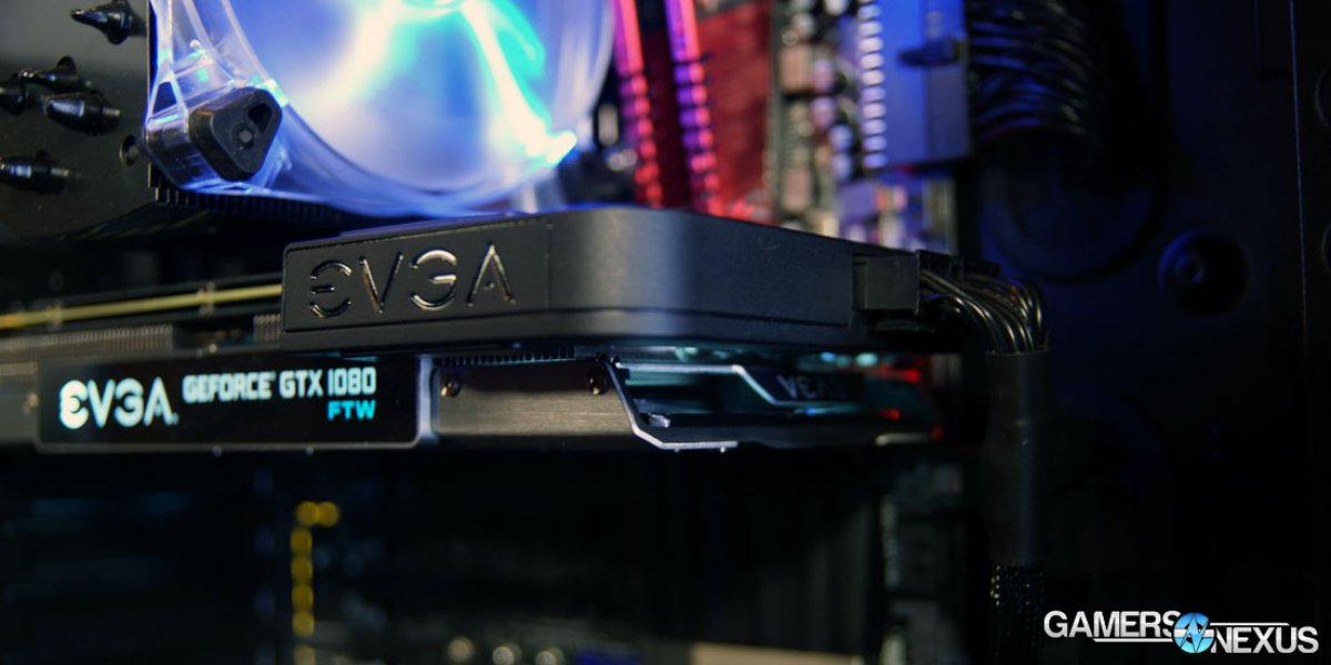 New EVGA Power Link at PAX with DG-87 Case