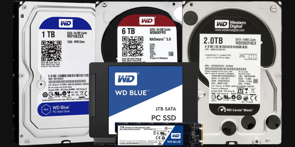 WD Blue vs. Black vs. Red & Purple HDD & SSD Differences (2017)
