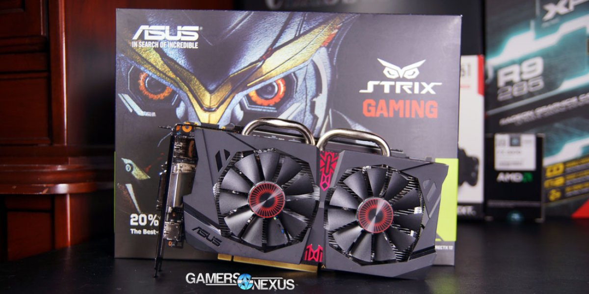 NVIDIA GeForce GTX 950 GPU Review & Gaming Benchmark with ASUS Strix