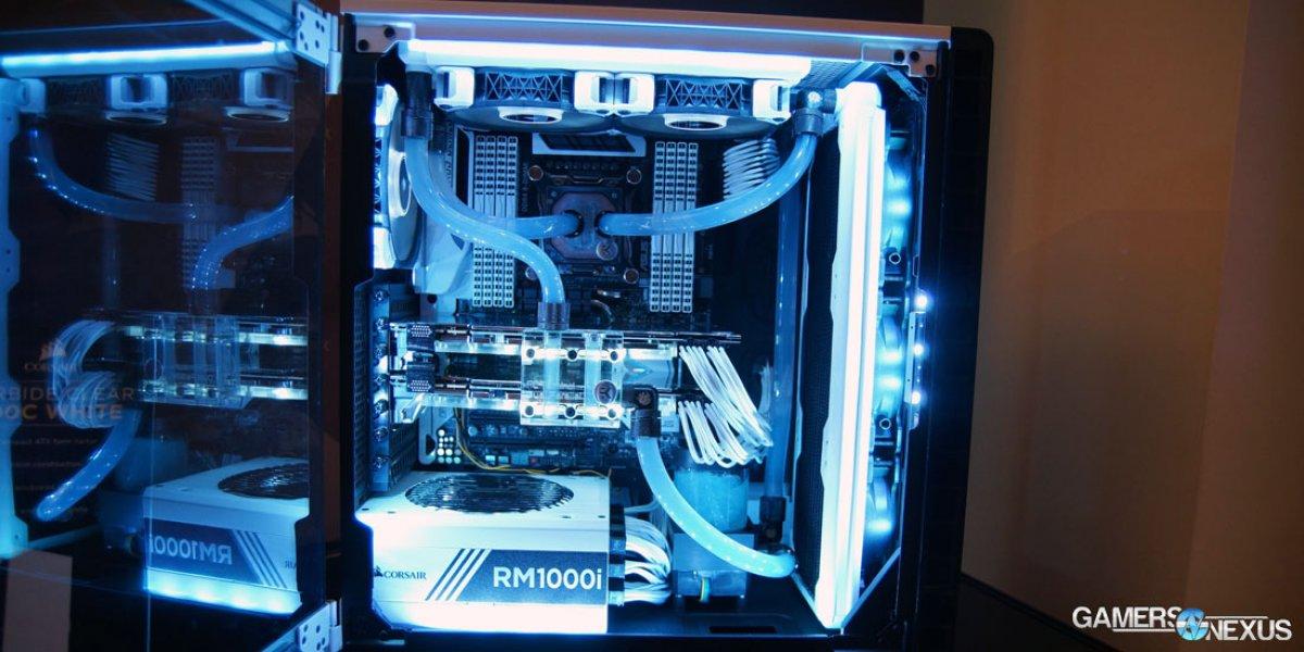 corsair s mag lev fans updated 400c case gamersnexus gaming pc