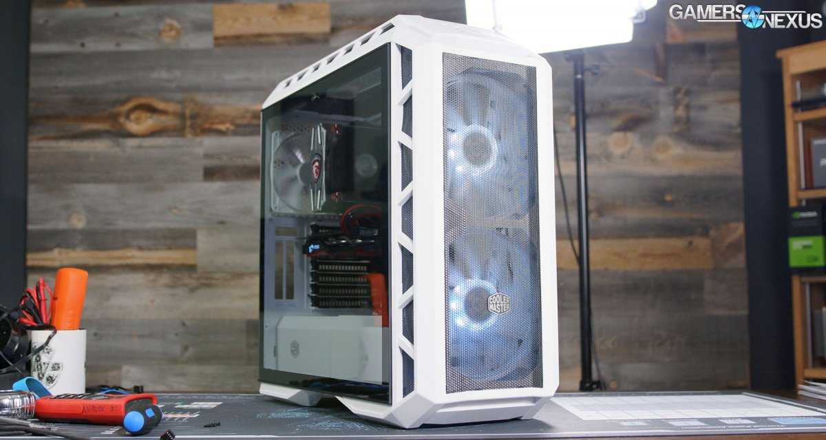 Cooler Master H500P Mesh Case Review: Thermals, Airflow, & Quality