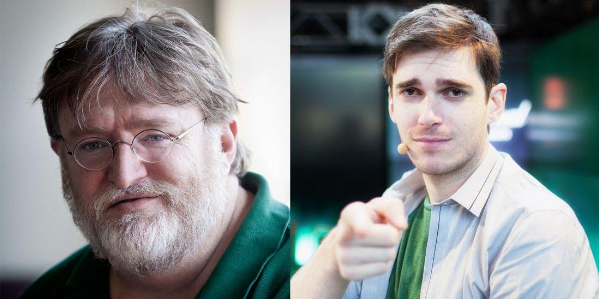 "Gabe Newell Publicly Disparages Caster: ""[2GD] is an ass."""