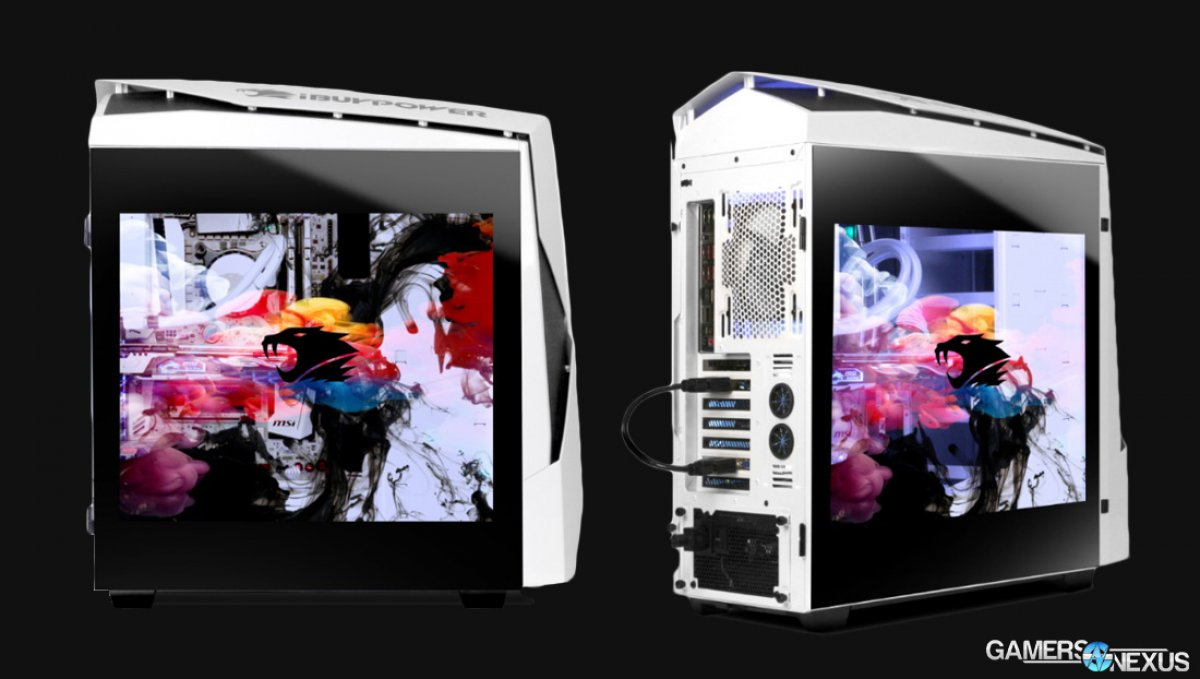 Ibuypower Snowblind N450 Specs Amp Official Launch