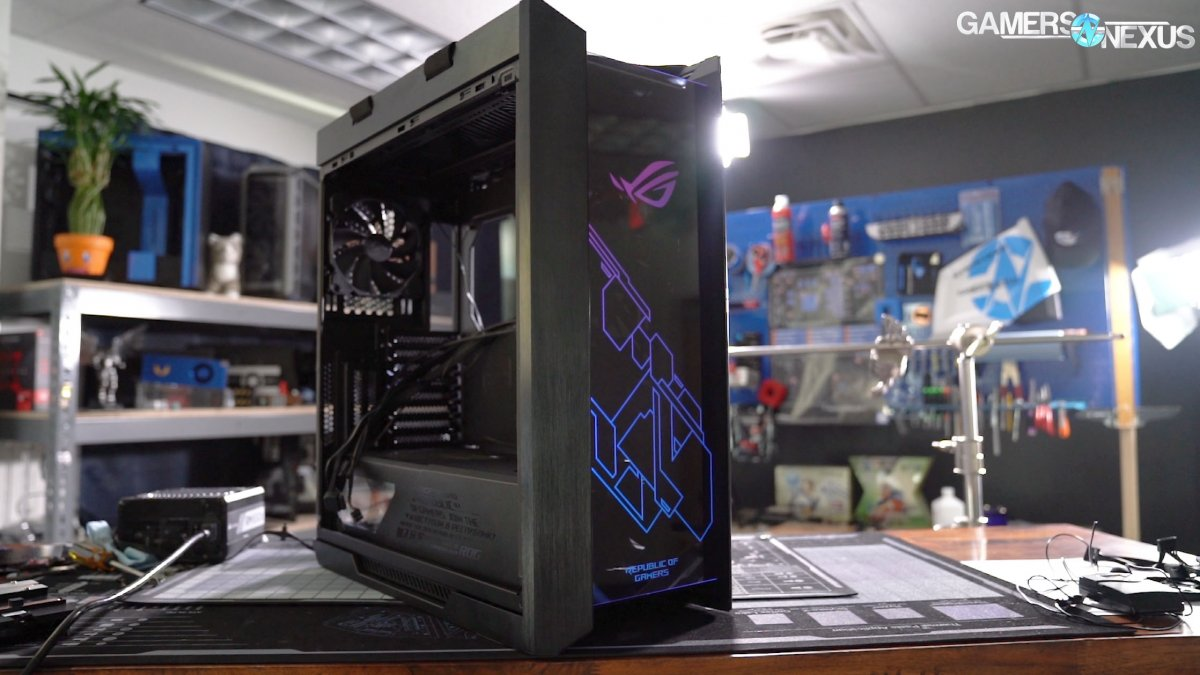 ASUS Strix Helios Case Review: ROG Tries Making PC Cases
