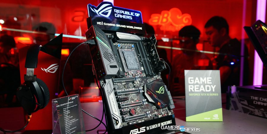 ASUS X399 Zenith Extreme Threadripper Motherboard Specs | Computex