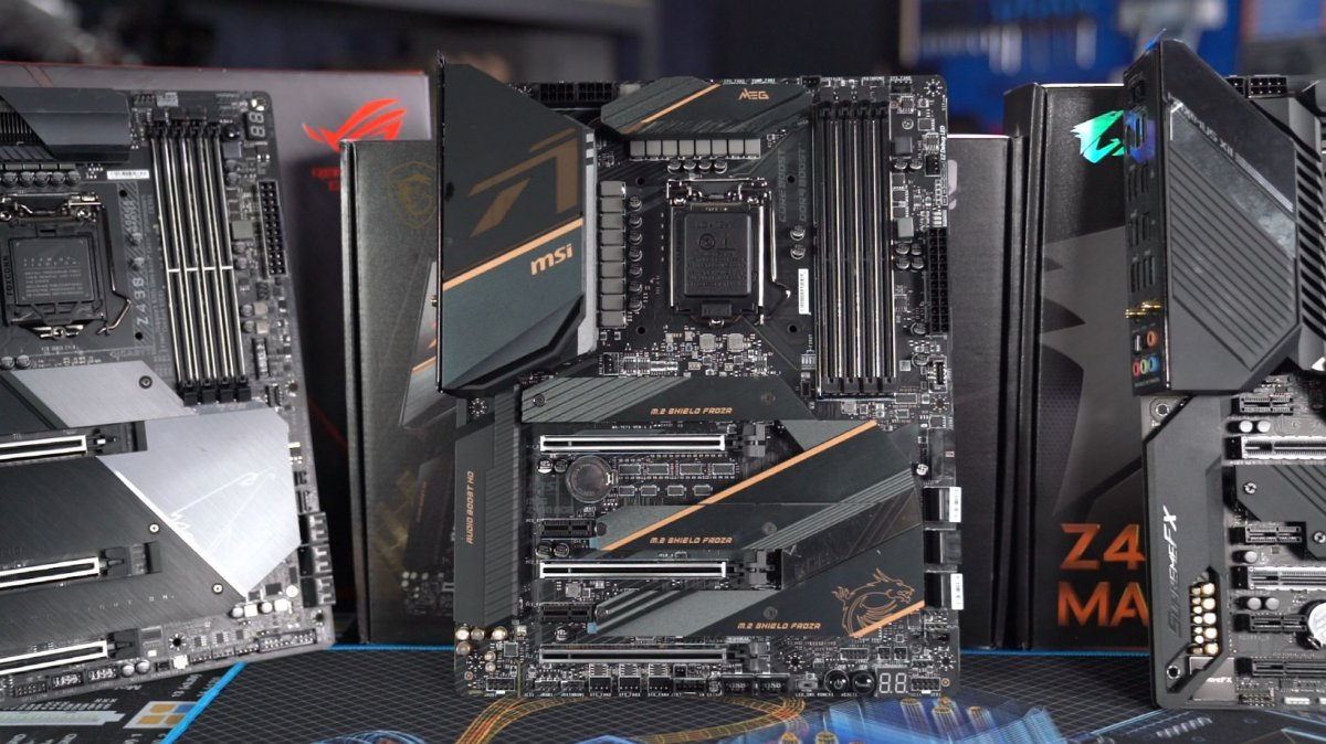 Don T Run Z490 Motherboards With Default Settings Thermals Power Boosting Mce For 10th Gen Cpus Gamersnexus Gaming Pc Builds Hardware Benchmarks