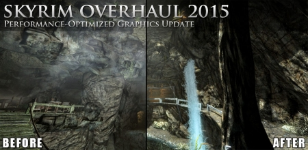 Skyrim Graphics Overhaul 2015 - The Best Performance Optimized Visual Mods