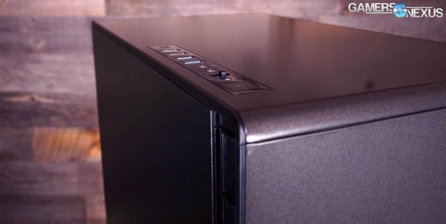 Corsair 600C Case Review: Cooling Domination with Inverted Motherboard