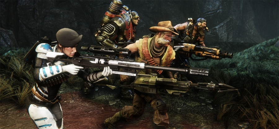 Evolve Review: A Full-Priced Game that Feels Minimalistic