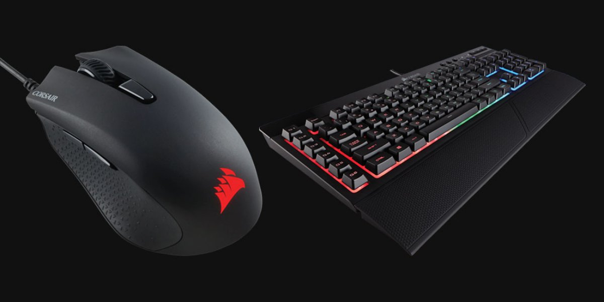 Corsair's New 'Harpoon' RGB Mouse & K55 Keyboard Specs