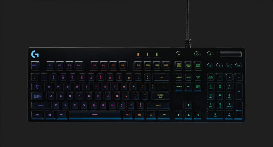 Logitech G810 Mechanical Keyboard Takes Cue From Corsair
