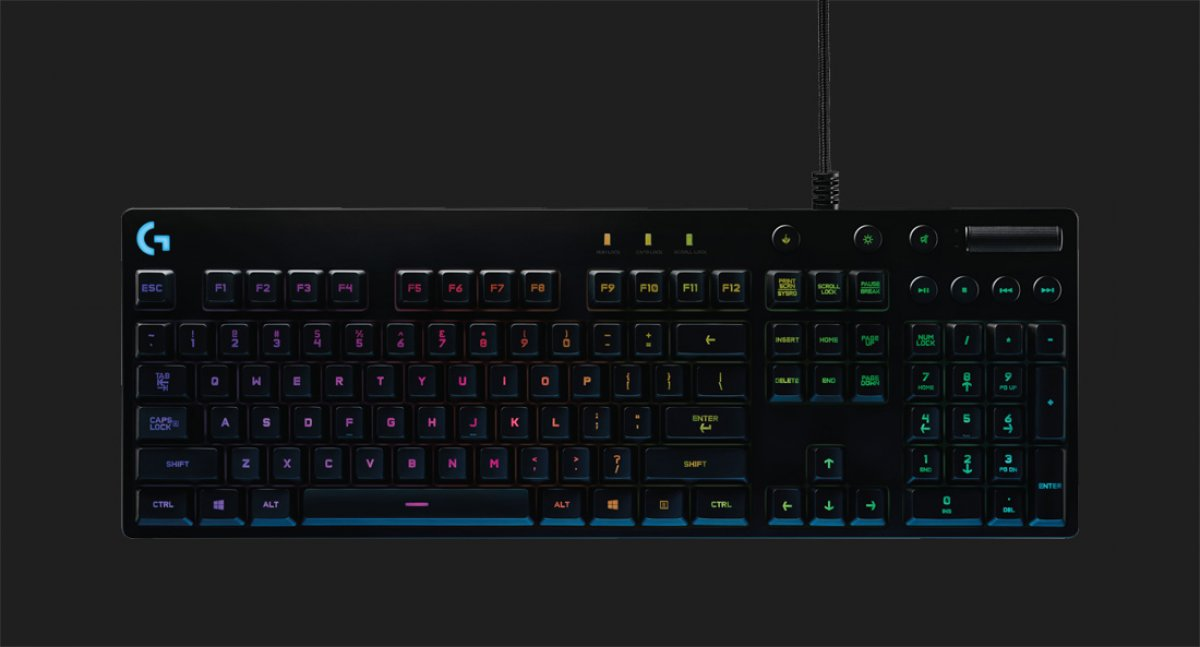 Logitech G810 Mechanical Keyboard Takes Cue From Corsair Gamersnexus Gaming Pc Builds Hardware Benchmarks