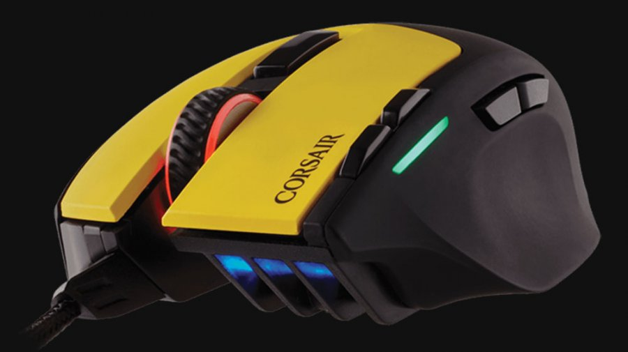 Corsair Badges Mice, Mouse Pads with Team Dignitas Colors