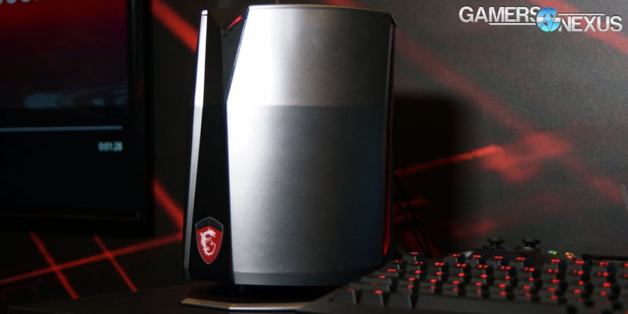 "CES Hands-On: MSI Vortex ""Trashcan"" Form Factor Gaming PC"