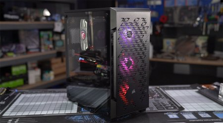 Corsair 220T Airflow Case Review: Shortening the ATX Form Factor
