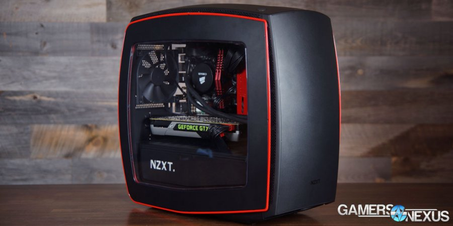 NZXT Manta Mini-ITX Case Review & Benchmark