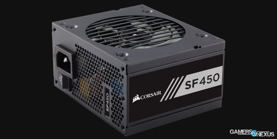 Corsair Competes with SilverStone: New SFX SF450 & SF600 PSUs