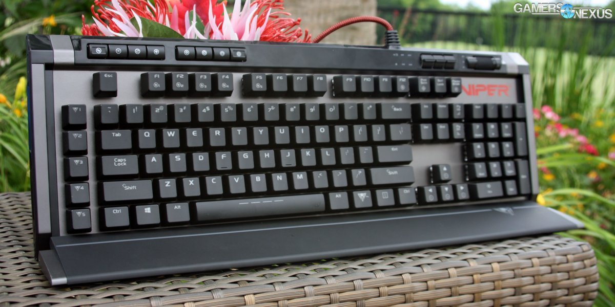 Patriot Viper V770 Mechanical Keyboard Review