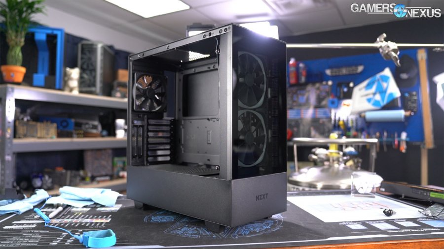 NZXT H510 Elite Case Review: Making Things Worse