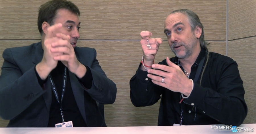 Chris Roberts & Richard Garriott Playfully Discuss Zero G Physics [Video]
