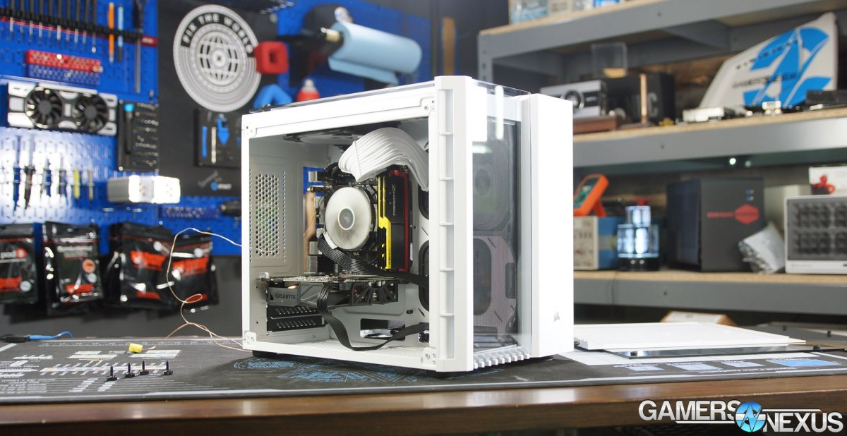 Corsair 280X Micro-ATX Case Review (ft. Mini-ITX Parts)