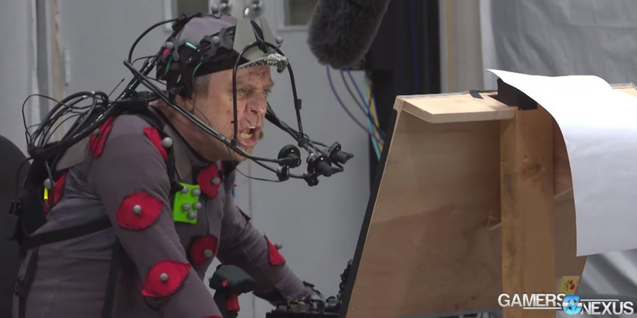 Star Citizen Team Releases Behind-the-Scenes of Mark Hamill's Performance Capture