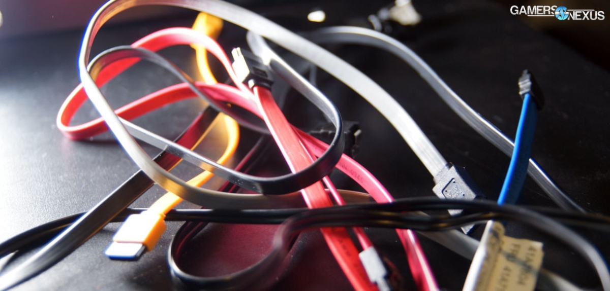 Bogus nding - 'SATA III' Cables vs. 'SATA II' Cables ... on