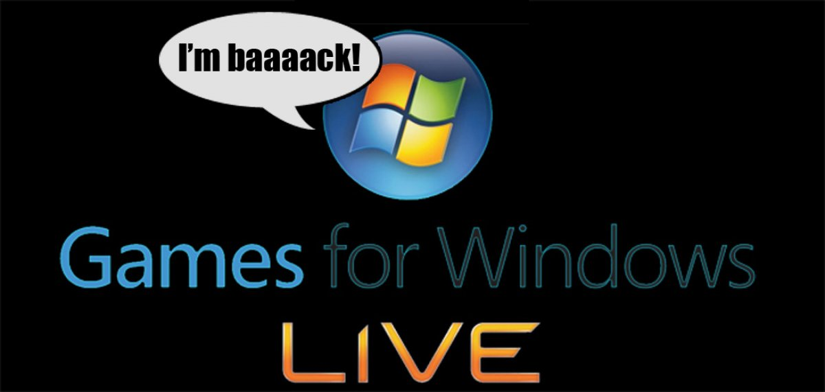 Microsoft Effectively Resurrects Games for Windows Live, Has Not Learned Anything