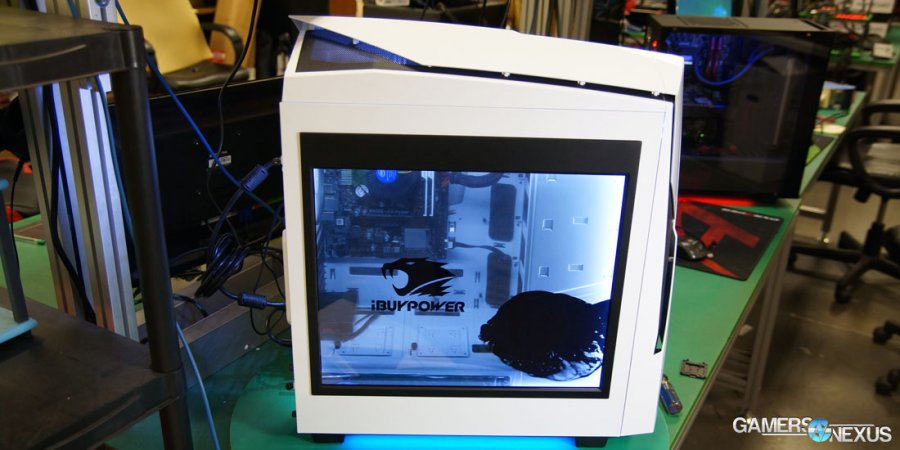 LCD on a Side Panel – Adding Light Guides to the Snowblind