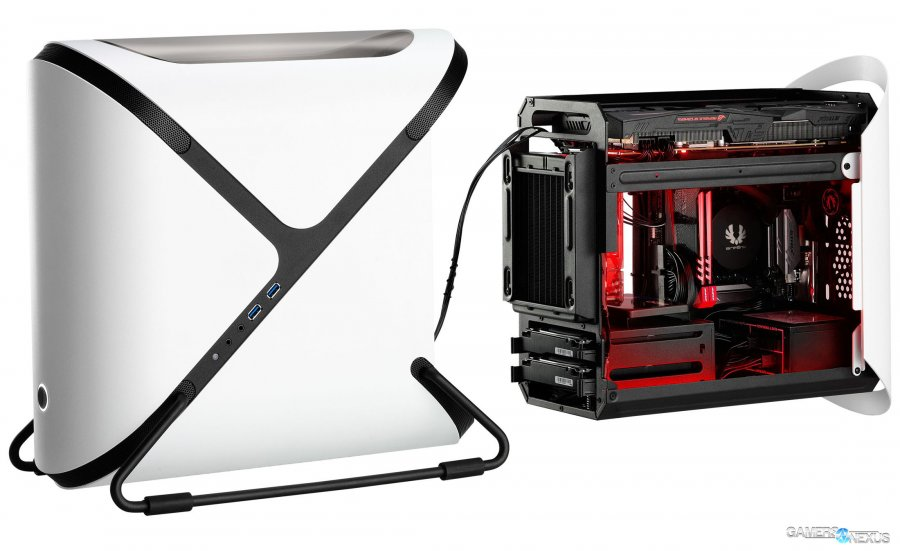 BitFenix Portal Mini-ITX Case Chambers the GPU